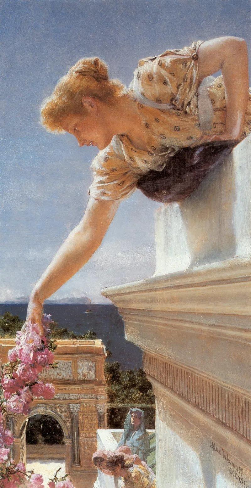 alma tadema lorens bog v pomoshh 1893 7