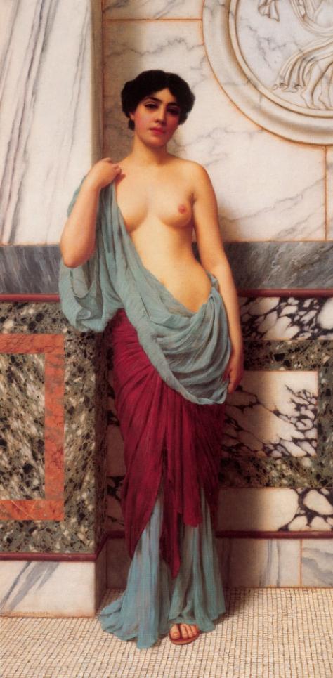 """Картина Годварда Джона Уильямса """"В термах"""" (1909)"""