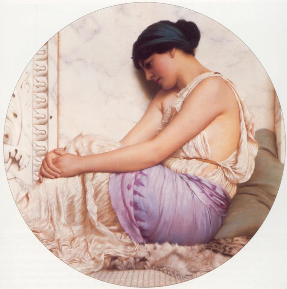 """Картина Годварда Джона Уильямса """"Греческая девушка""""  (1908)"""