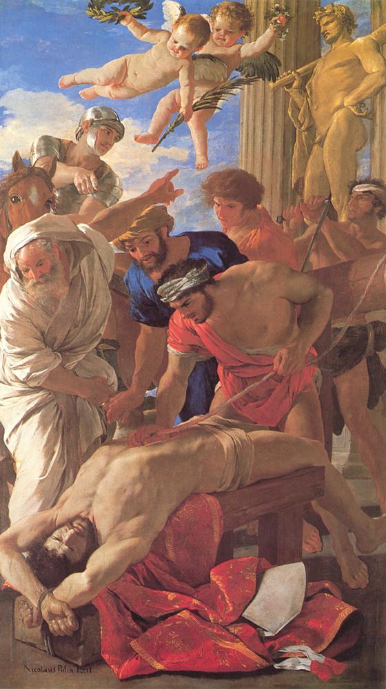 """Анализ картин. Картина Никола Пуссен """"Мученичество святого Эразма"""" (1628-29). Находится в Музее Ватикана, в Ватикане"""