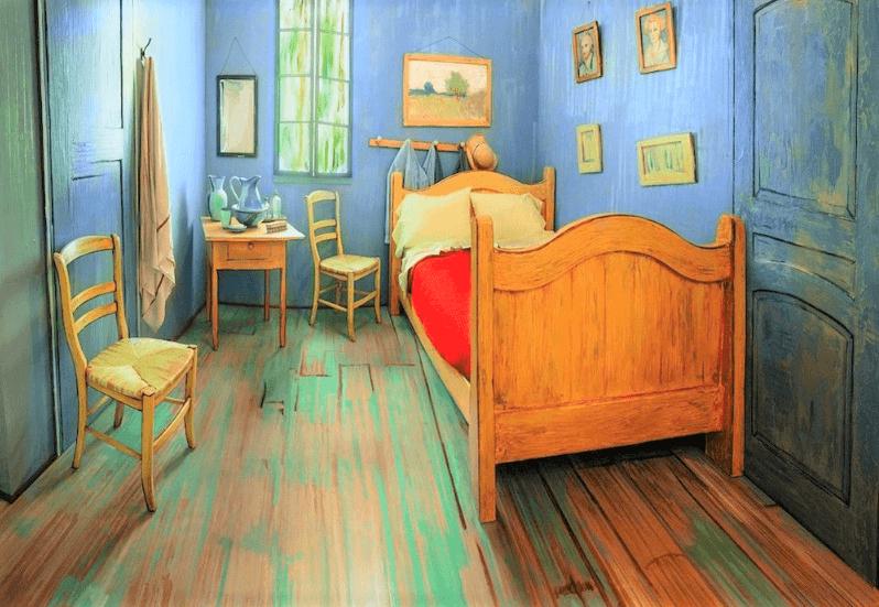 спальня Ван Гога в Чикаго