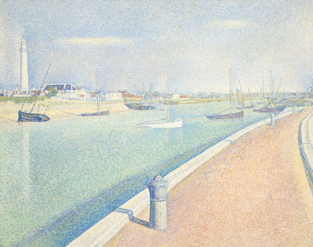 port v grejvlajns po napravleniyu k moryu zhorzh syoera 1890 6