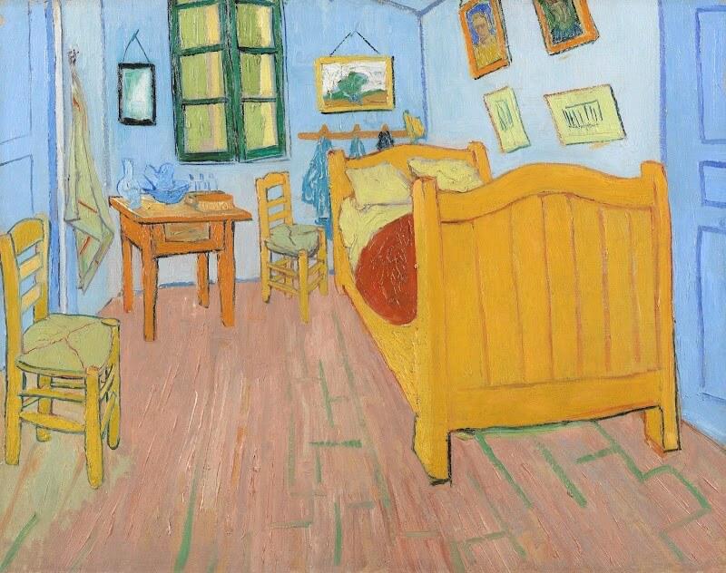 """Картина """"спальня Ван Гога"""""""