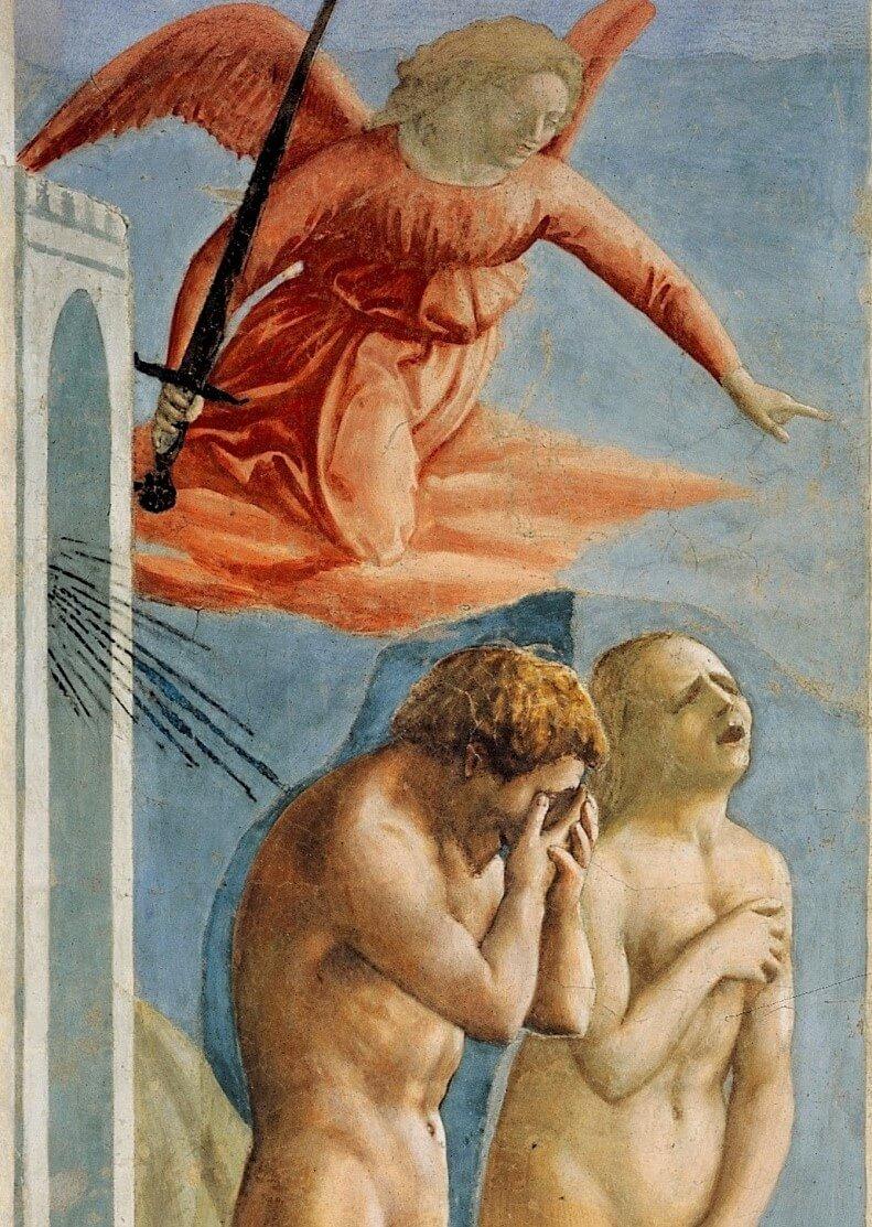 freska mazachcho izgnanie iz raya 1 10
