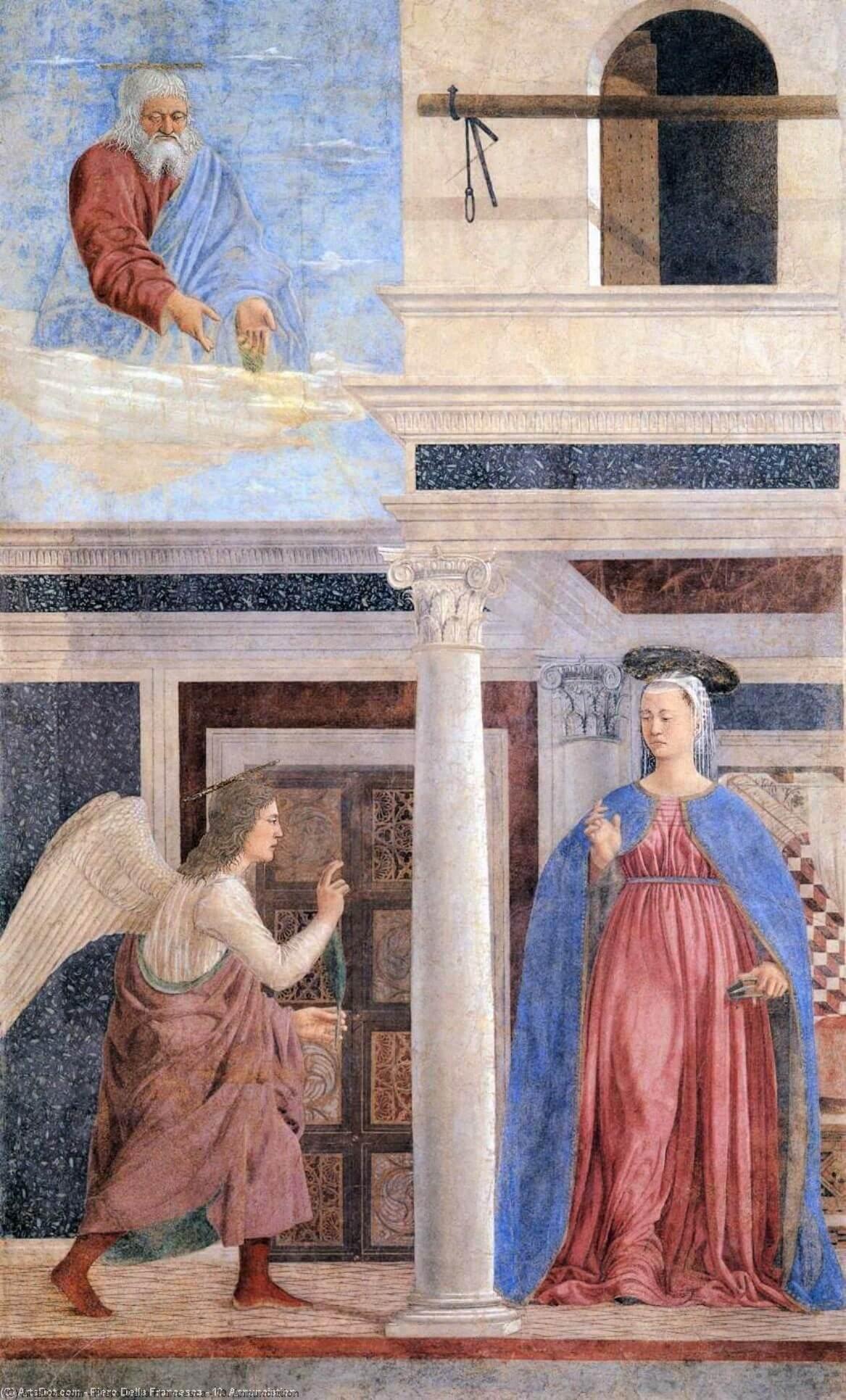 piero della francesca 10. annunciation 7