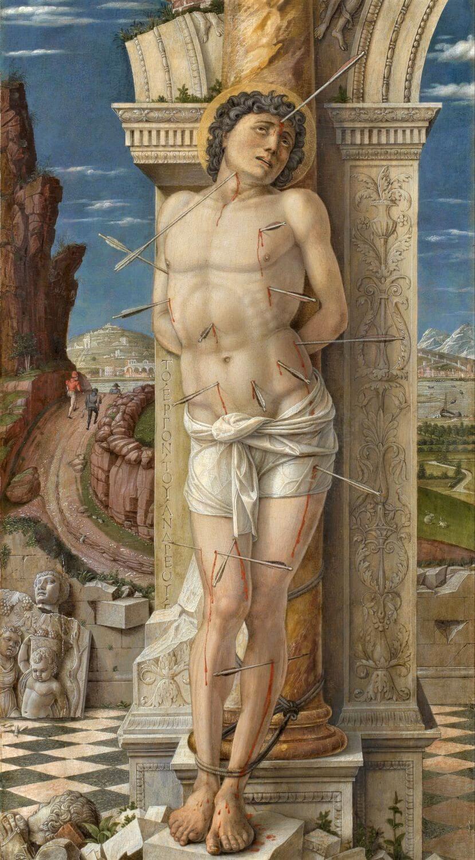 stsebastian by andrea mantegnafin 1
