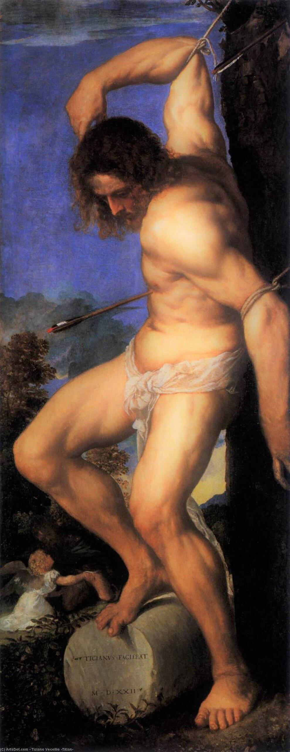 tiziano vecellio titian polyptych of the resurrection st sebastian scaled 2